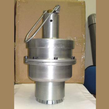 """Пневматический пломбиратор 2"""" (50мм) для бочек 200 литров."""