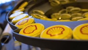 """Пломбы для бочек 2"""" желтого цвета и логотипом."""