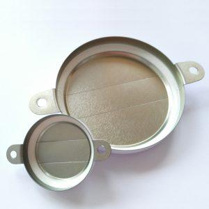 Изображение внутренней стороны комплекта крышек-пломб для бочки 200 литров. Крышки со стрелками.