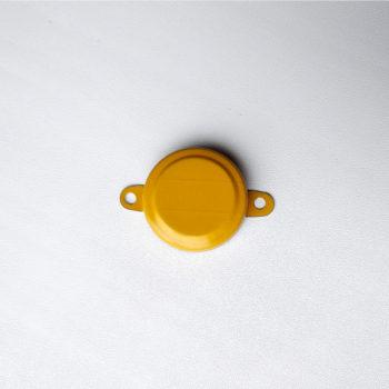 "Желтая крышка пломба для бочки 3/4"""